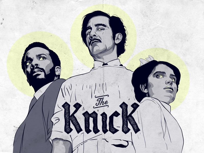 The Knick - Fan art doctor fan art illustrator majkol photoshop illustration series art knick