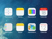 iOS8 - icon design