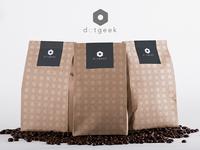 DotGeek Coffee - Brand Design