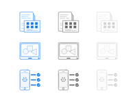 Icons for DSP
