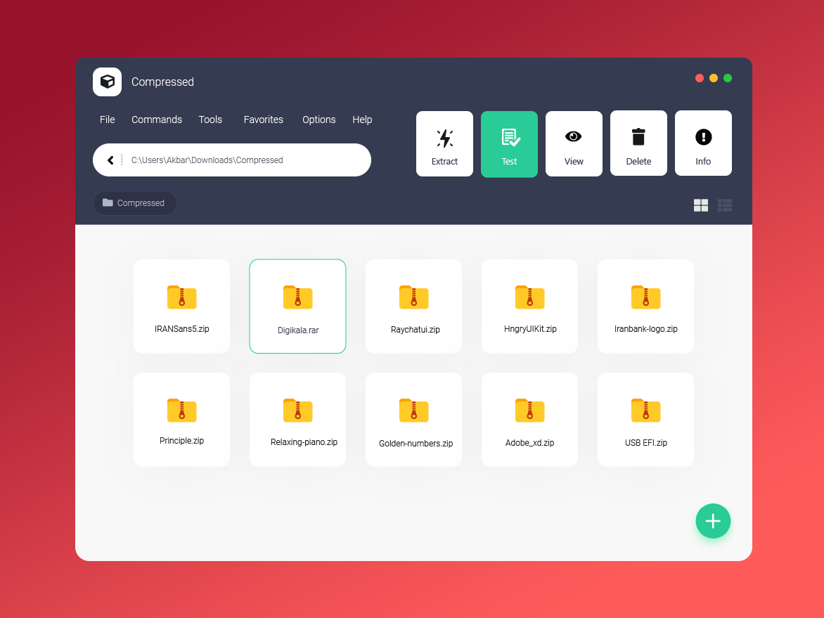 Winrar Redesign by Akbar Nourian on Dribbble