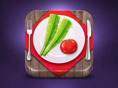 Cooking app ios icon by egor c dribbble cooking app ios icon forumfinder Gallery