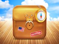 Travel app icon
