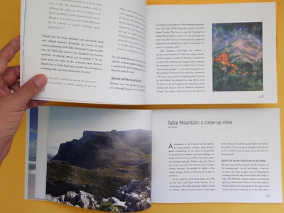 36 Views of Table Mountain by Thomas Cartwright catalogue painting exhibition book publishing editorial