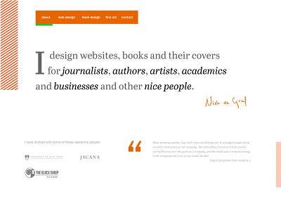 Personal site website portfolio branding personal