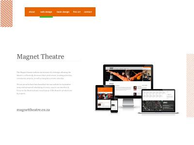 Personal site - portfolio page website portfolio branding personal