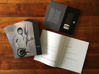 Printed! 'Promise' by Raél Salley typography paintings art artist publication book