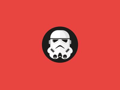Storm Trooper wars star trooper storm illustrator icon flat illustration vector stormtrooper starwars