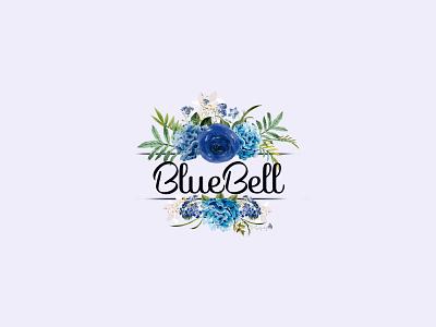 Blue Flower feminine logo fiverr design fiverrgigs luxury logo feminine weed flowers logo design fiverr feminine logo logodesign boutique flower logo design beauty logo boutiques boutique logo