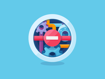 Access Denied access denied vector colorful icon