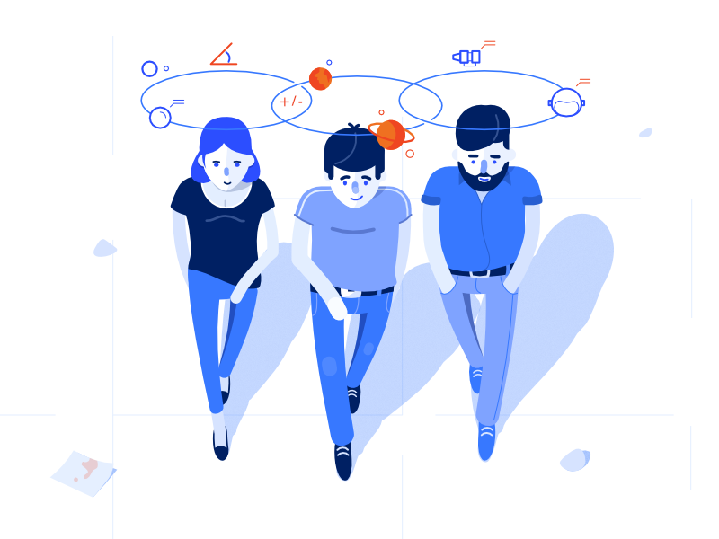 Slikovni rezultat za idea walk illustration
