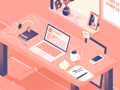 Workspace - illustration