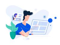 Modern UI - Illustration
