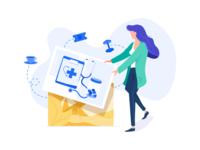 Benefits simplified - illustration