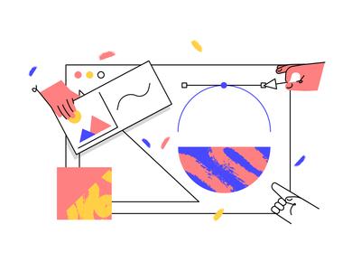 Website Development - Illustration