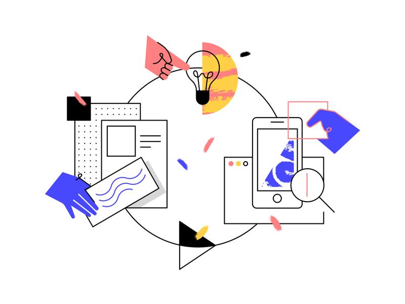 Product Design vector illustration pattern affinitydesigner illustration webpagedesign product design