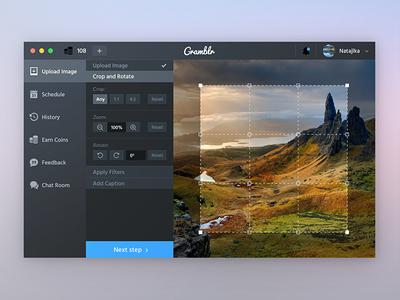 Gramblr- native OS X app