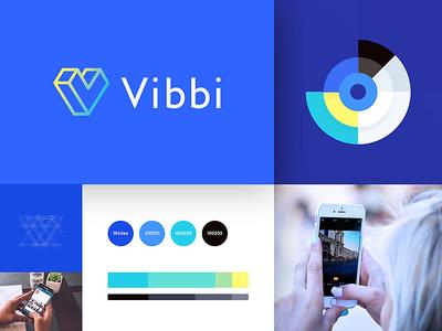 Vibbi - Identity color web branding guide scheme logotype brand logo