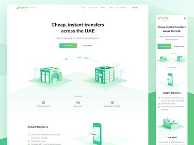 ✨Verify Payment - Website ethereum website web ui design crypto payment transfer blockchain