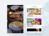 Foodgasm - Food Delivery App