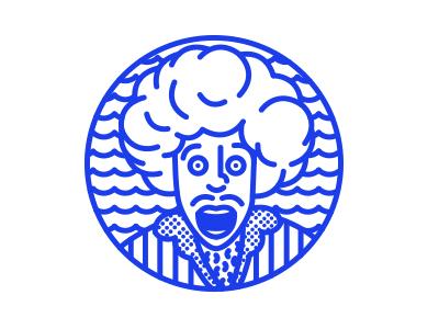 Nêgo Stamp illustration design logo id brownies brand lines stamp icon