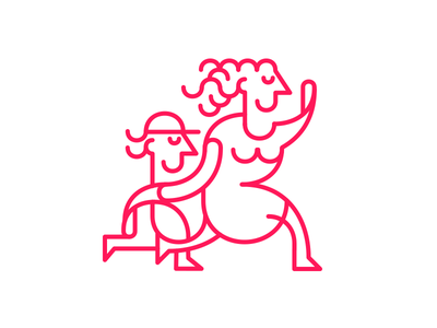 Mom logo minimal icon