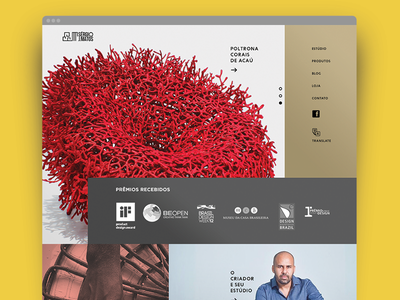 Website Product Designer webdesign designer furniture product