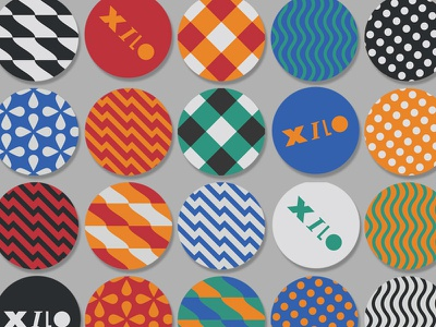Xilo Sticks stick colorful pattern