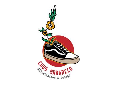 Badge design sneakerhead branding design logo vector illustration