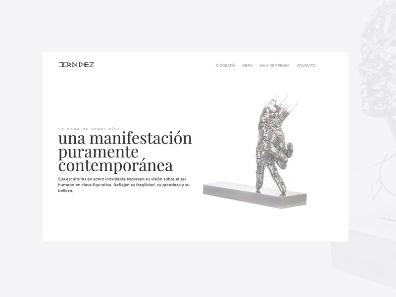 Artist Portfolio responsive webdesign portfolio ux design ui