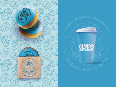 Clancy's Delicacies Concept simpsons packaging design packaging branding brand identity