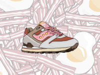 The Feature X Saucony Courageous Bacon And Eggs