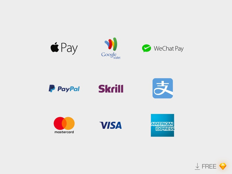 Download Payment Logos Updated