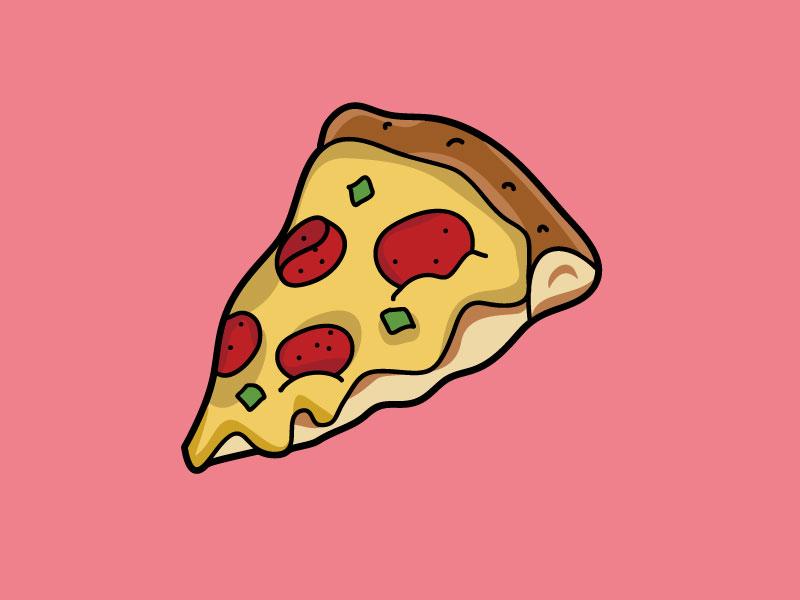 Аватарку прикол, прикольные маленькие рисунки кусок пиццы