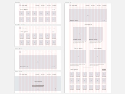 Wireframe collection is growing