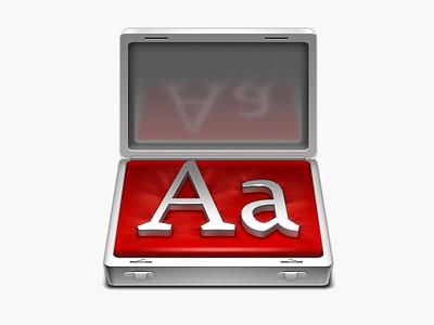 Fontcase app icon icon app