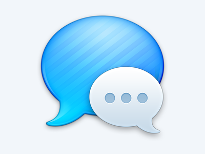 iMessage apple icon app