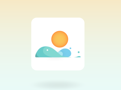 weather Icon  ( squared )