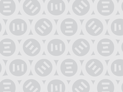 Omstead branding circles grayscale pattern omstead