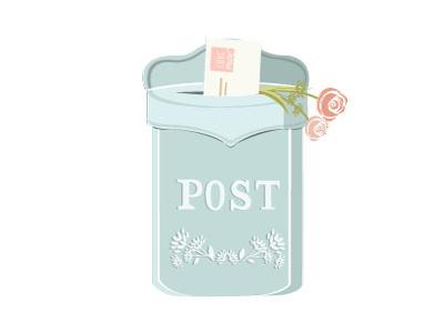 Vintage Post Box hoodzpah icons