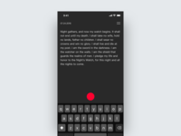 Note App Concept