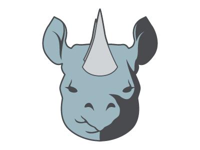 Rhino Mascot athletics logo mascot vector rhino rhinoceros
