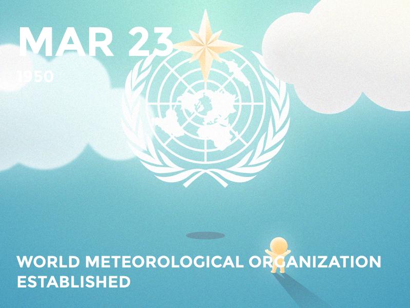 #Daily WMO meteorology wmo cute daily history illustration bolo