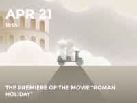 #Daily Roman Holiday