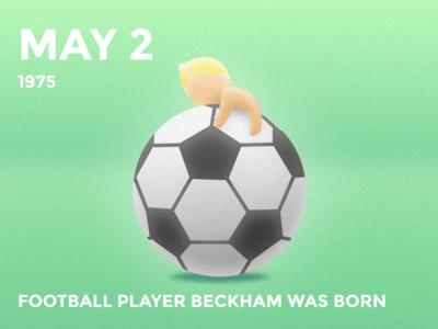 #Daily Beckham