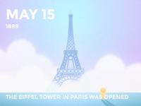 #Daily Eiffel Tower