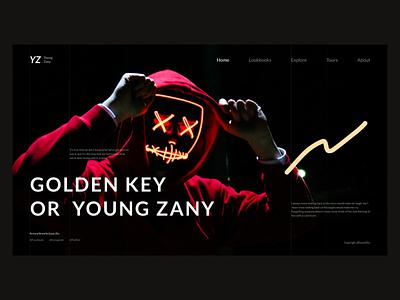 XXYXXxxxXXZXX cool website practice dark black daily ux ui web yz unsplash