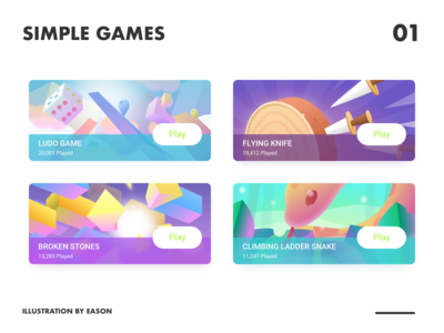 Some Simple Games