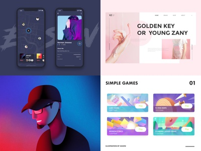 2018 history branding web illustration ux ui