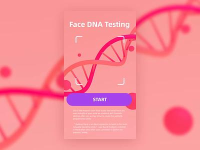 DNA Event Scan video dna scan event pink ux ui motion 3d c4d